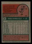 1975 Topps Mini #82   Pat Kelly Back Thumbnail