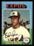 1975 Topps Mini #592  Balor Moore  Front Thumbnail