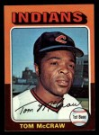 1975 Topps Mini #482   Tom McCraw Front Thumbnail