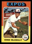 1975 Topps Mini #318  Ernie McAnally  Front Thumbnail