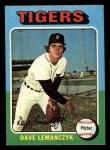 1975 Topps Mini #571   Dave Lemanczyk Front Thumbnail