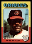 1975 Topps Mini #382   Don Baylor Front Thumbnail