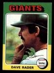 1975 Topps Mini #31   Dave Rader Front Thumbnail