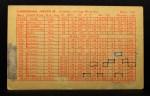 1963 Exhibit Stat Back #19   Joe Cunningham Back Thumbnail