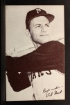1962 Exhibit Stat Back #15  Dick Groat  Front Thumbnail