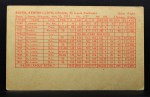 1962 Exhibit Stat Back #5   Ken Boyer Back Thumbnail