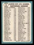 1965 Topps #8  1964 NL ERA Leaders  -  Don Drysdale / Sandy Koufax Back Thumbnail