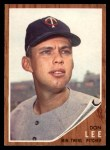 1962 Topps #166 A  Don Lee Front Thumbnail