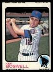 1973 Topps #87  Ken Boswell  Front Thumbnail