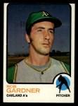 1973 Topps #222  Rob Gardner  Front Thumbnail