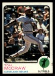 1973 Topps #86   Tom McCraw Front Thumbnail