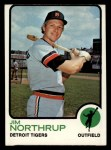 1973 Topps #168   Jim Northrup Front Thumbnail