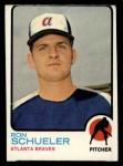 1973 Topps #169   Ron Schueler Front Thumbnail
