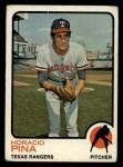 1973 Topps #138   Horacio Pina Front Thumbnail
