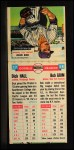 1955 Topps Doubleheaders #57   Dick Hall / Bob Grim Back Thumbnail