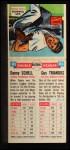 1955 Topps Doubleheaders #81  Danny Schel / Gus Triandos  Back Thumbnail