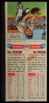 1955 Topps Doubleheaders #49  Ron Jackson / Jim Finigan  Back Thumbnail