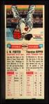 1955 Topps Doubleheaders #9  J.W. Porter / Thornton Kipper  Back Thumbnail