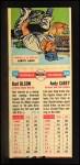 1955 Topps Doubleheaders #35  Karl Olson / Andy Carey  Back Thumbnail