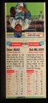 1955 Topps Doubleheaders #117  Steve Bilko / Bob Millikin  Back Thumbnail