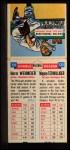 1955 Topps Doubleheaders #131  Herm Wehmeier / Wayne Terwilliger  Back Thumbnail