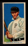 1910 Coupon T213 #186 PIT George McQuillan  Front Thumbnail
