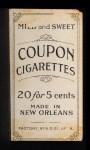 1910 Coupon T213 #123 BAL  Mickey Doolan Back Thumbnail