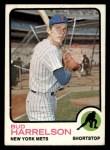 1973 Topps #223   Bud Harrelson Front Thumbnail