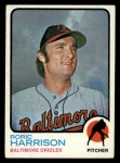 1973 Topps #229   Roric Harrison Front Thumbnail