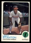 1973 Topps #18  Leroy Stanton  Front Thumbnail