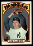 1972 Topps #22  Rob Gardner  Front Thumbnail