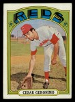 1972 Topps #719   Cesar Geronimo Front Thumbnail