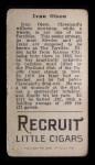 1912 T207 #145   Ivy Olson   Back Thumbnail