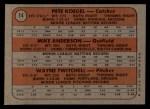 1972 Topps #14  Phillies Rookies    -  Mike Anderson / Pete Koegel / Wayne Twitchell Back Thumbnail