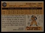 1960 Topps #120  Rookies  -  Duke Carmel Back Thumbnail