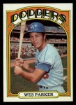 1972 Topps #265   Wes Parker Front Thumbnail