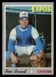 1970 Topps #221  Ron Brand  Front Thumbnail