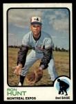 1973 Topps #149   Ron Hunt Front Thumbnail