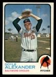 1973 Topps #109   Doyle Alexander Front Thumbnail