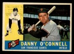 1960 Topps #192   Danny O'Connell Front Thumbnail