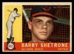 1960 Topps #348   Barry Shetrone Front Thumbnail