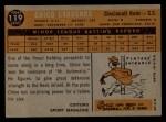 1960 Topps #119   -  Leo 'Chico' Cardenas Rookies Back Thumbnail