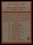 1965 Philadelphia #98  Los Angeles Rams   -  Hartland Svare Back Thumbnail