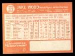 1964 Topps #272   Jake Wood Back Thumbnail