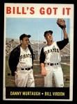 1964 Topps #268  Bill's Got It  -  Bill Virdon / Danny Murtaugh Front Thumbnail