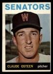 1964 Topps #28   Claude Osteen Front Thumbnail
