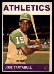1964 Topps #276   Jose Tartabull Front Thumbnail