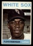 1964 Topps #195   Floyd Robinson Front Thumbnail