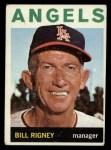 1964 Topps #383   Bill Rigney Front Thumbnail