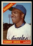 1966 Topps #75   Tommy Davis Front Thumbnail